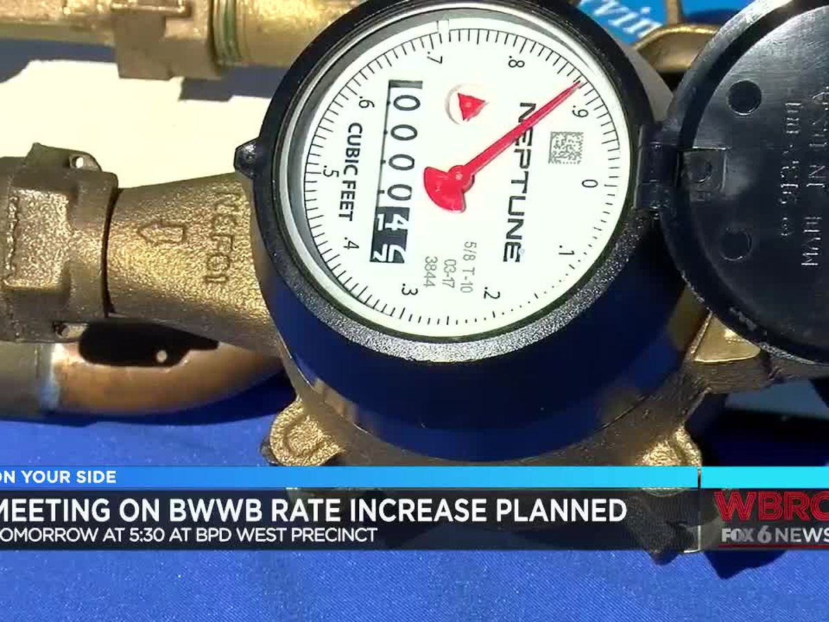 Community to hold meeting about increased water bills