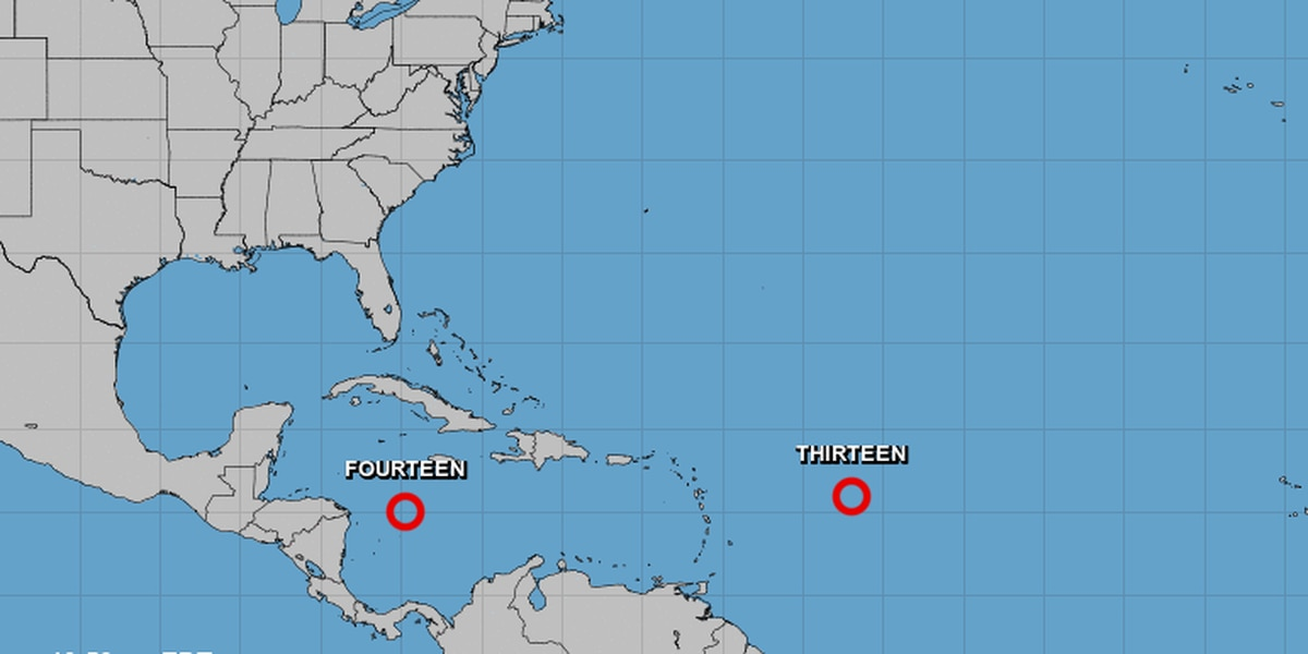 Two new storms form in Atlantic, could threaten Florida, Gulf coast