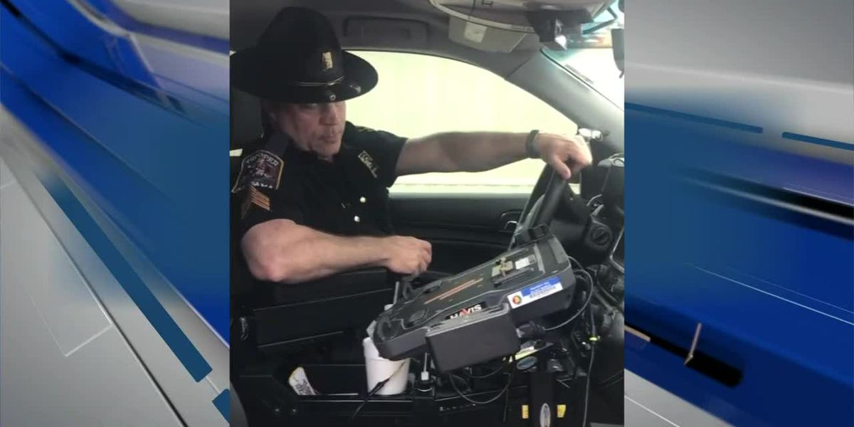 VIDEO: Longtime Alabama state trooper signs off for the last time