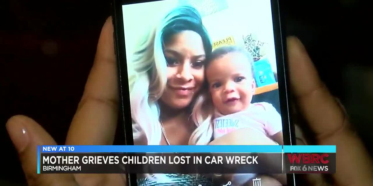 Mother grieves children lost in car wreck