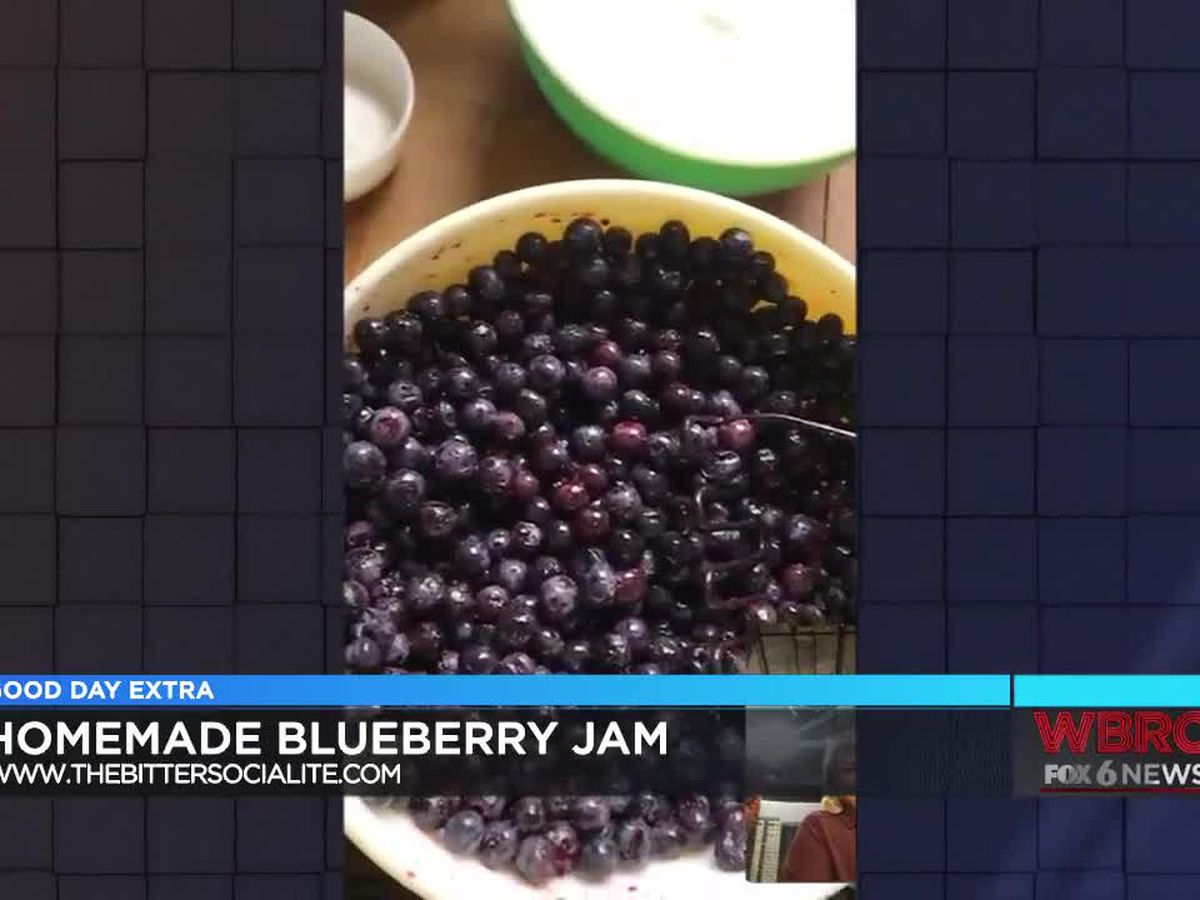 The Bitter Socialite: Homemade blueberry jam