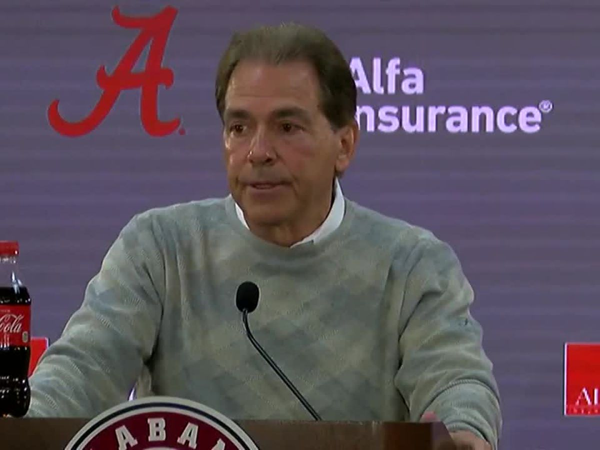 Coach Saban speaks ahead of SEC Championship Game in Atlanta