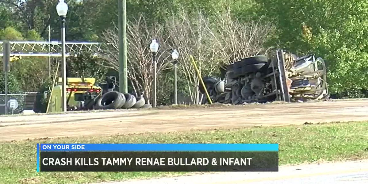 Crash kills Tammy Bullard and infant
