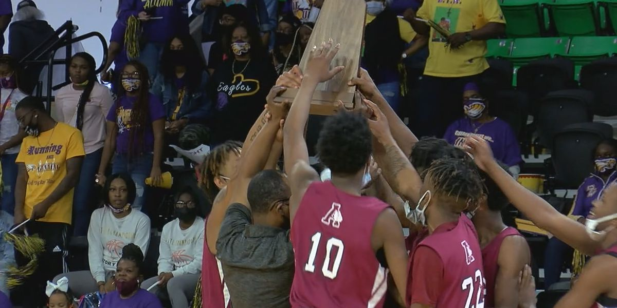 Anniston boys win 4A State Basketball Championship