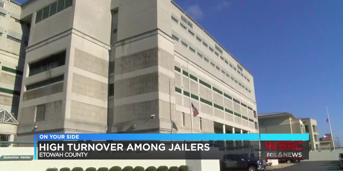 High turnover among jailers in Etowah Co.
