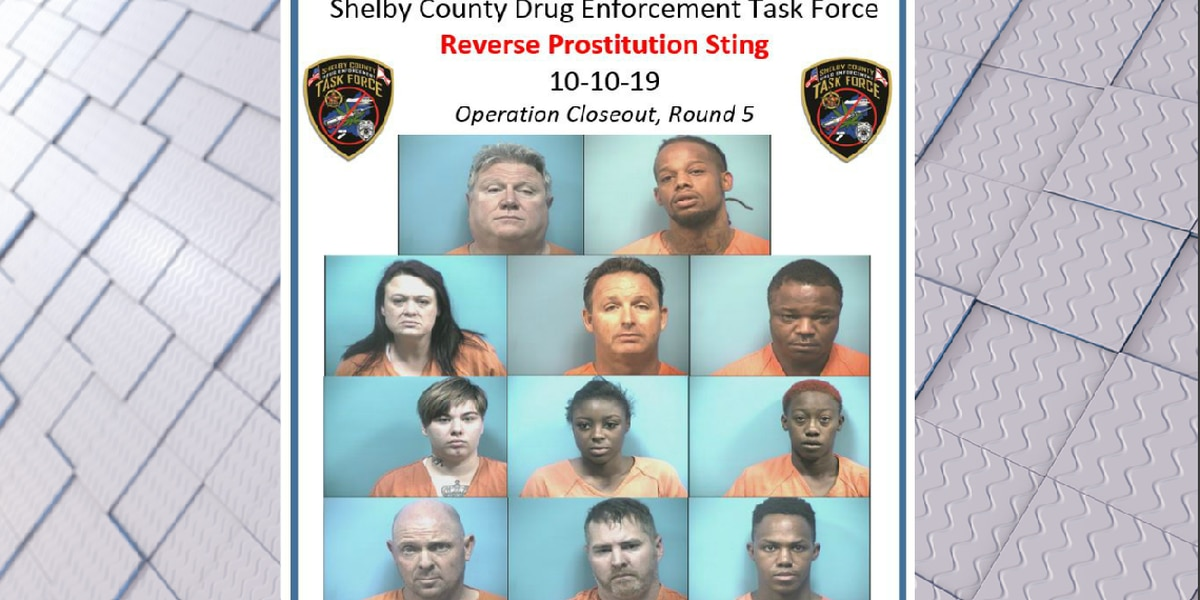 Multiple arrested in Shelby County prostitution sting