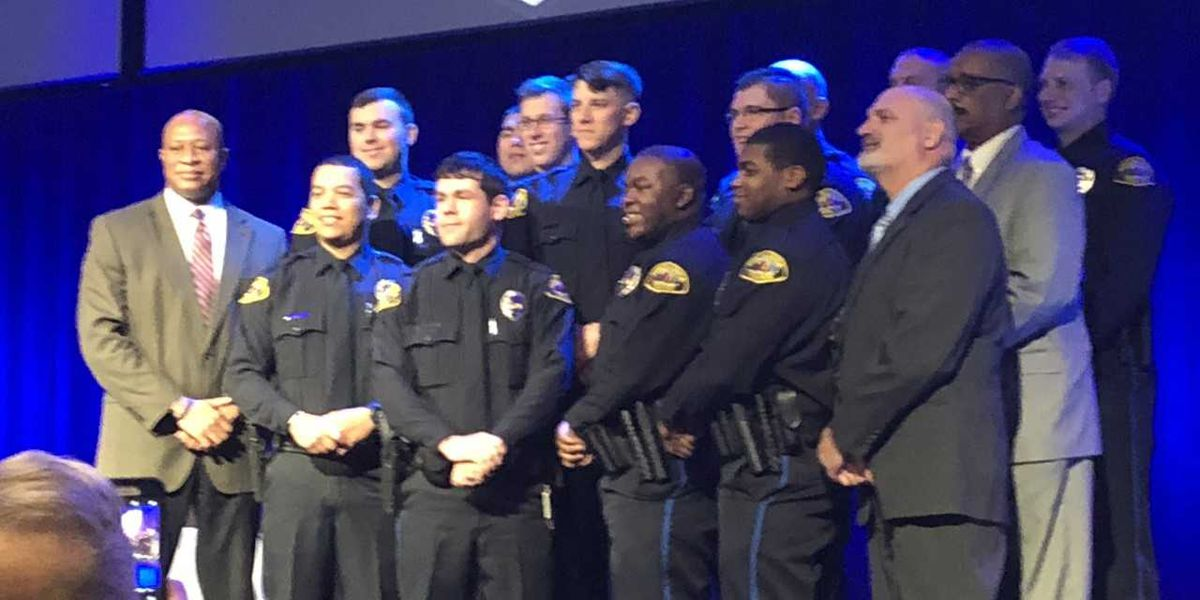 New Tuscaloosa Police Officers started this week