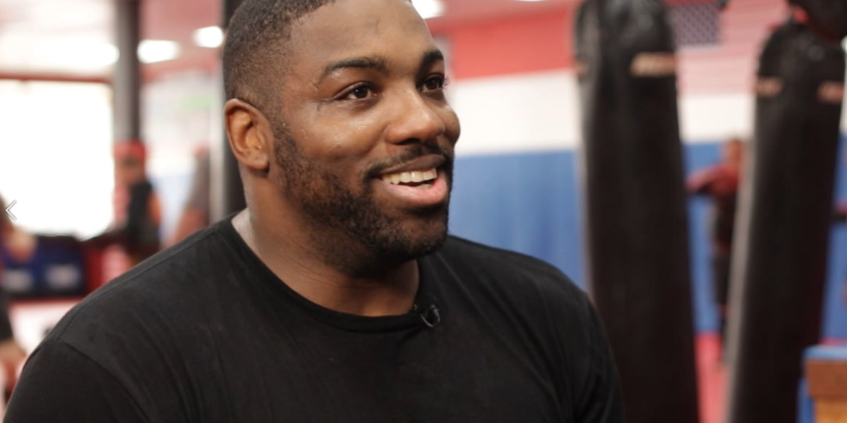 'I want to say thank you': Walt Harris gives emotional interview after first fight following daughter's murder