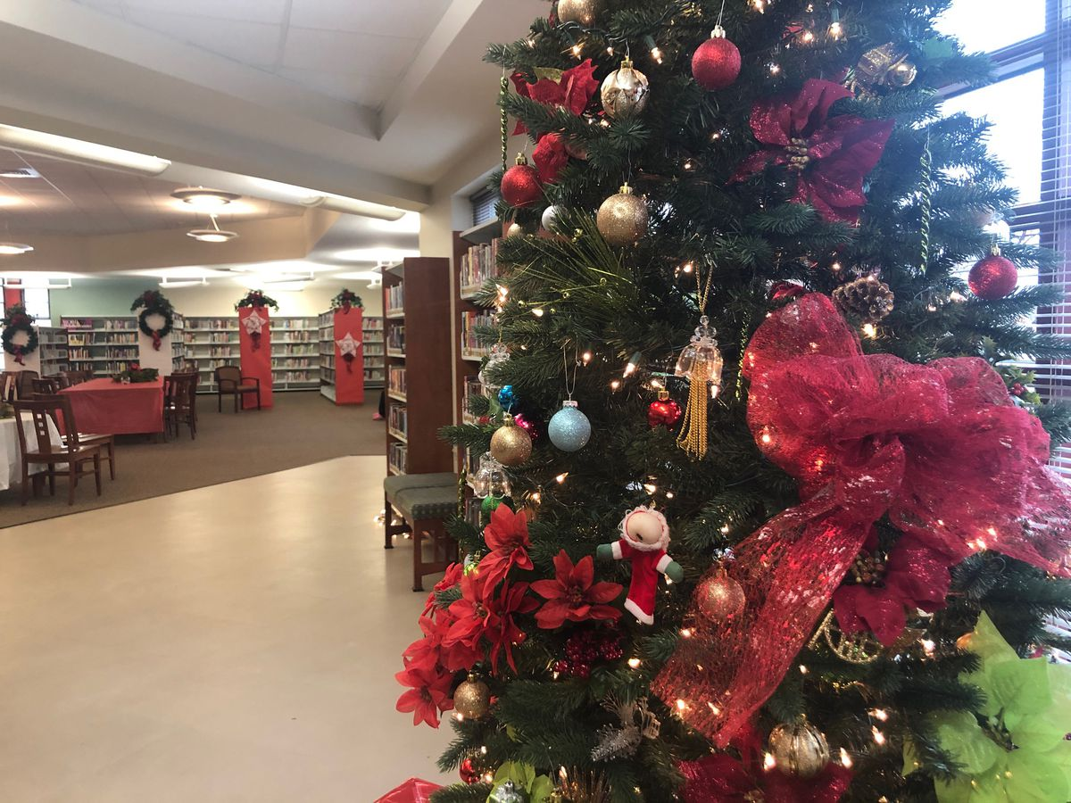 Celebrating Christmas and Community at the West End Branch Library