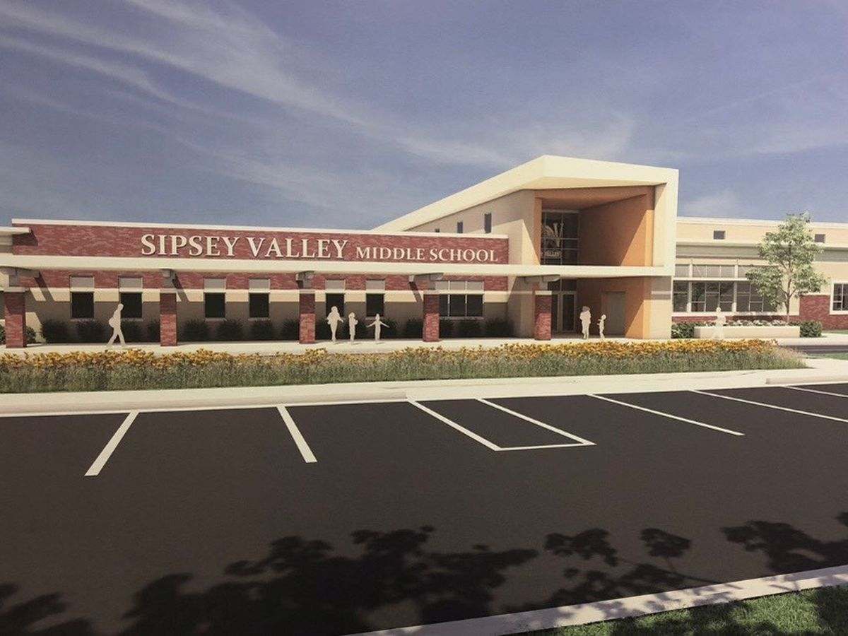 Groundbreaking ceremony held for Sipsey Valley Middle School