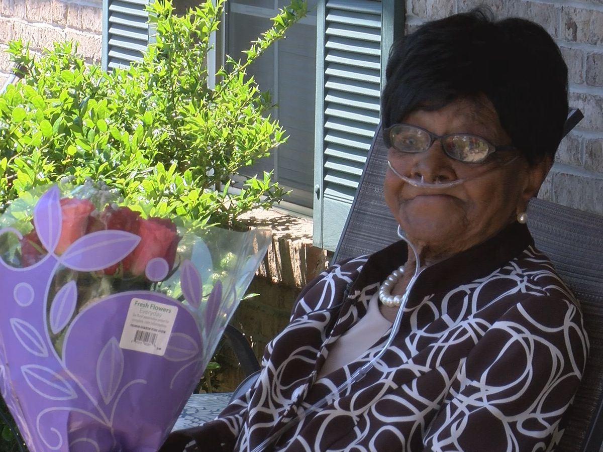 Montgomery woman celebrates 102nd birthday and Mother's Day