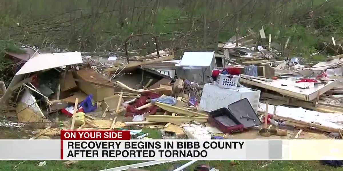 Recovery begins in Bibb County after tornado damage