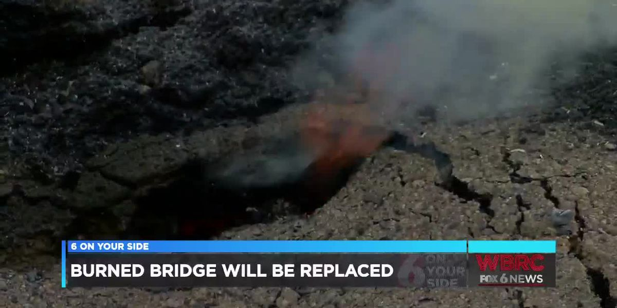 Burned bridge in Tuscaloosa Co. will be replaced