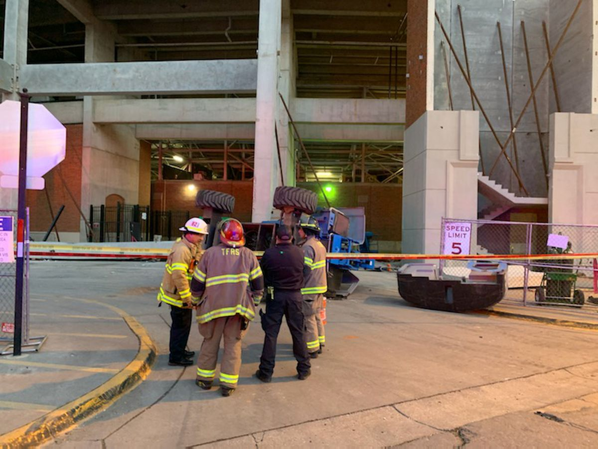 Two construction workers seriously injured during renovations at Bryant-Denny Stadium