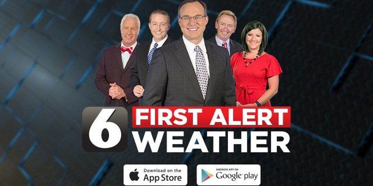 Customize the WBRC First Alert Weather app