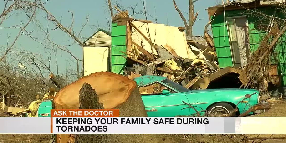 Keeping your family safe during tornadoes