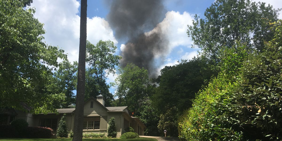 House catches fire in Mountain Brook