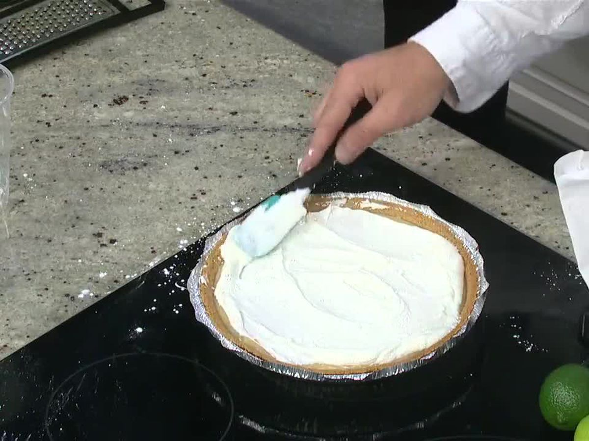 Chef Daniel Stewart: Key lime pie