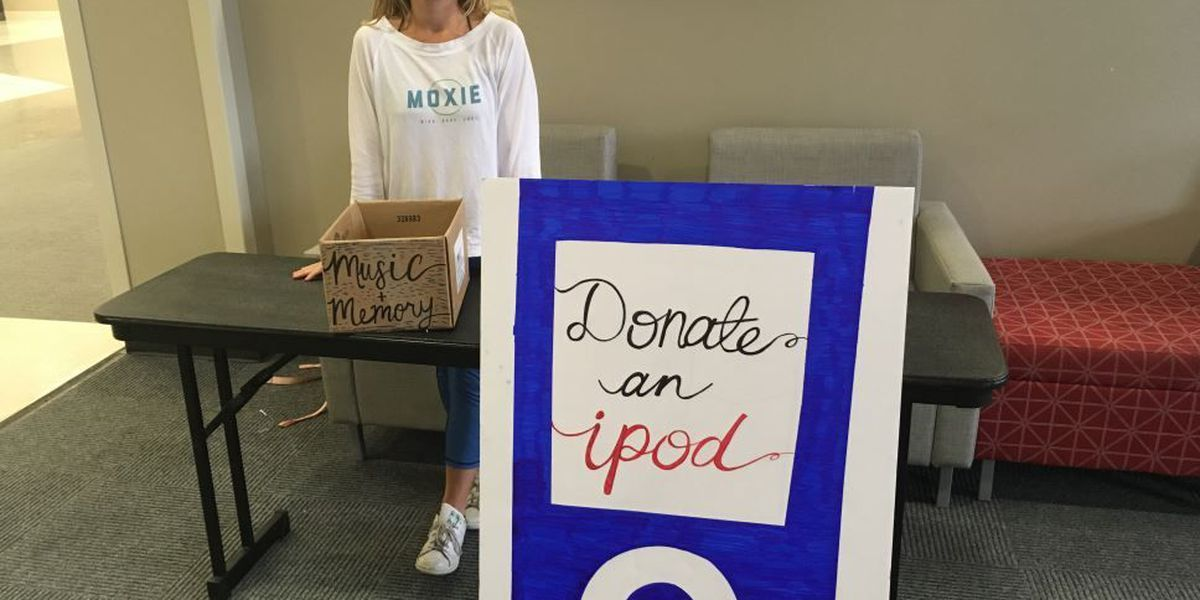 UA students hold iPod drive benefiting those with memory loss