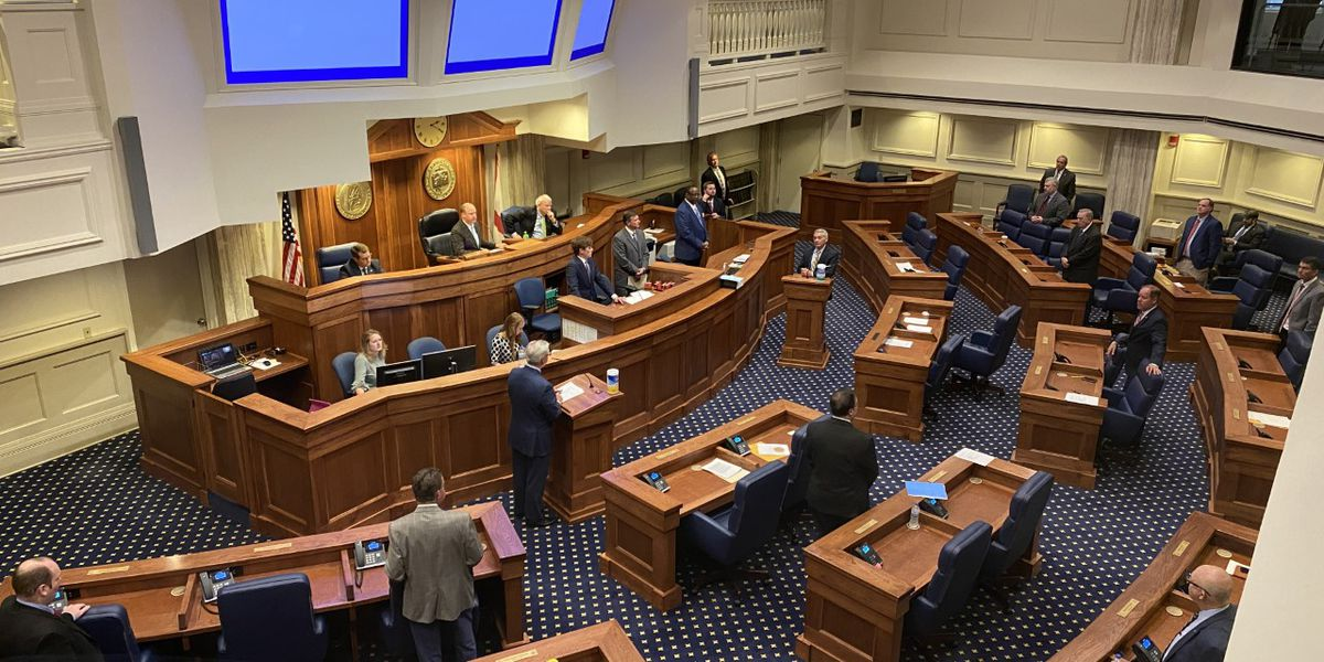 Democratic leader argues waiting on passing state budgets