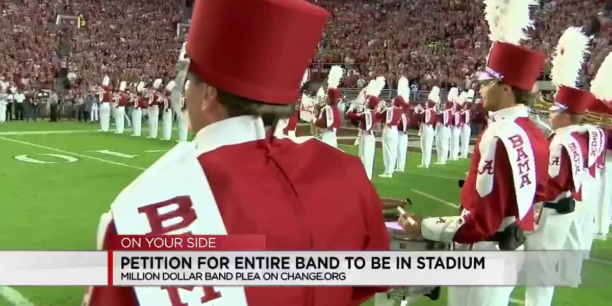 Petition for entire UA band to be in stadium