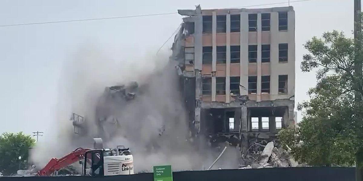 Final demolition of Ramsay McCormack building