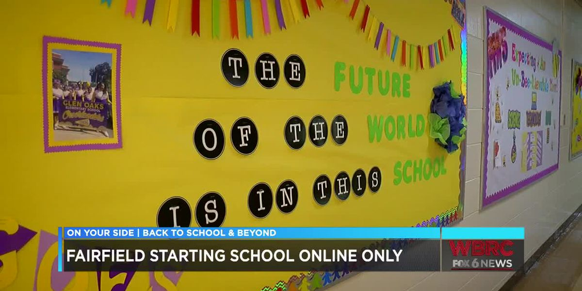 Fairfield City Schools starts virtually, but still prepares for student return