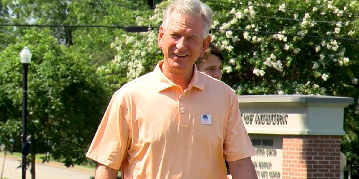 Tuberville declared winner in bid to face Senator Doug Jones on November ballot