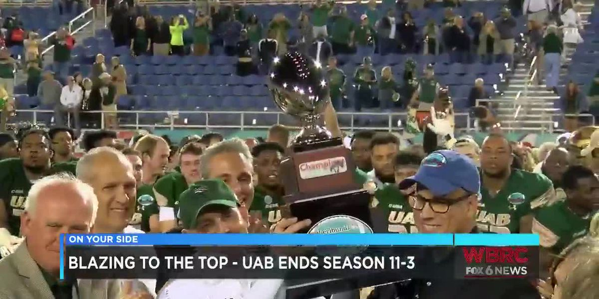 Blazing to the top: UAB ends season 11-3