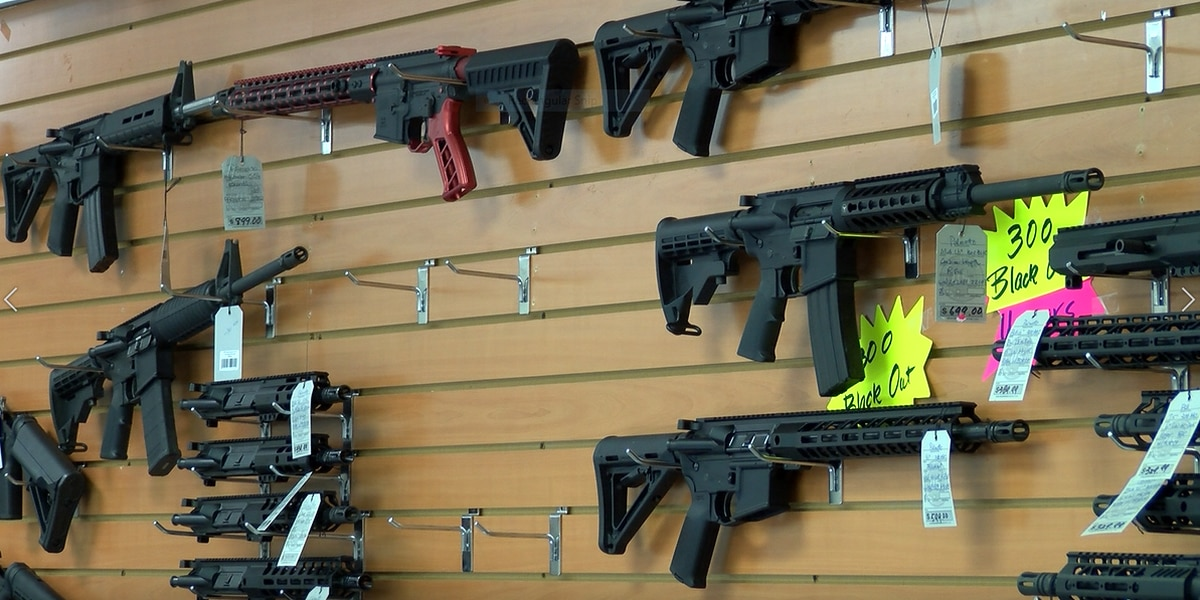 'We're breaking records every day': Gun store owner in Opelika talks surge in sales