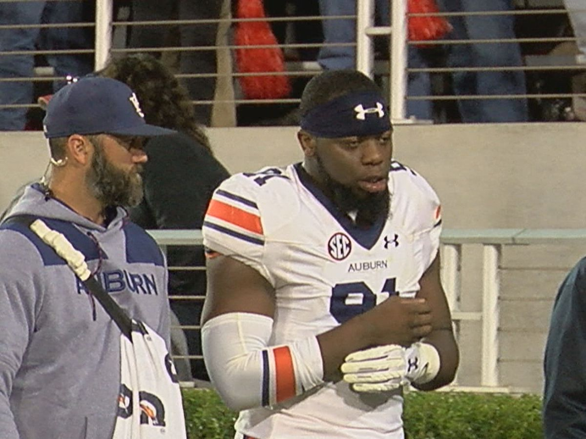 Auburn DE Nick Coe to miss game against Liberty with injury