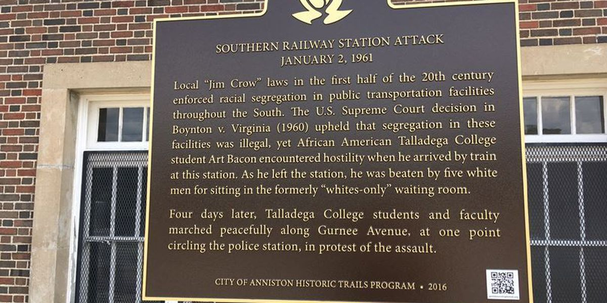 Anniston unveils Civil Rights Trail markers to commemorate era