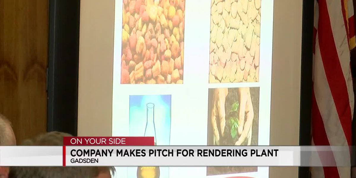 Company makes pitch for rendering plant in Gadsden