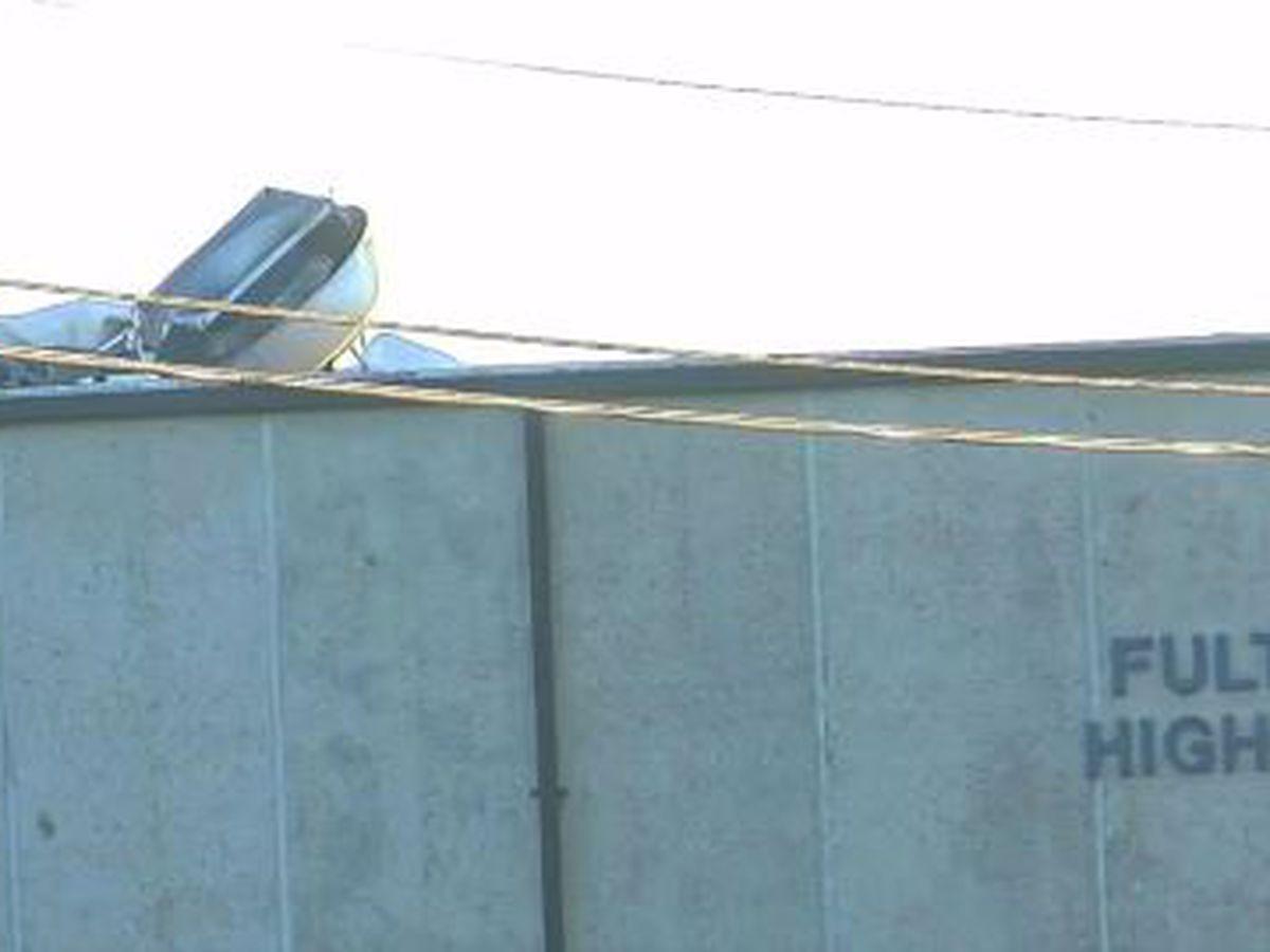 Fultondale High School, area near school damaged in tornado Monday