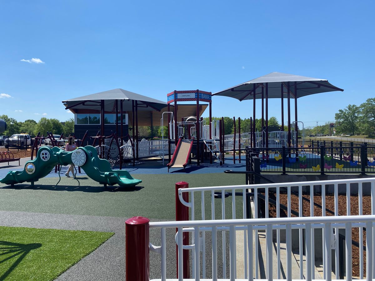 All-inclusive playground opens Wednesday in Tuscaloosa