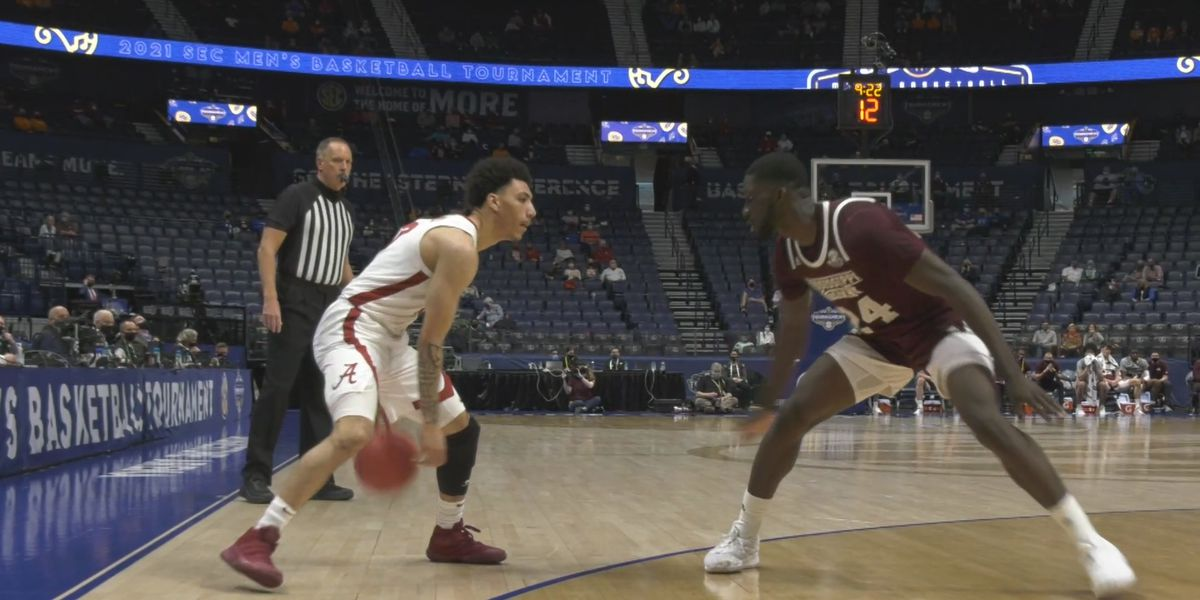 Alabama beats Mississippi State, advances in SEC Tournament