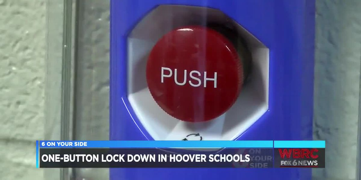 One-button lock down in Hoover schools