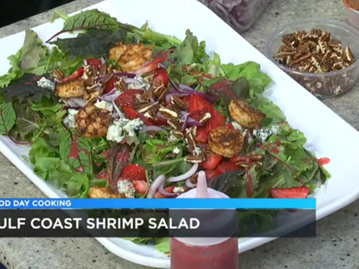 Snapper Grabbers: Gulf Coast Shrimp Salad