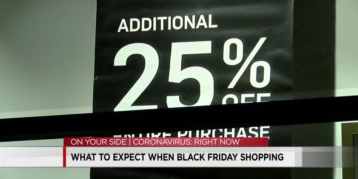 What to expect when Black Friday shopping