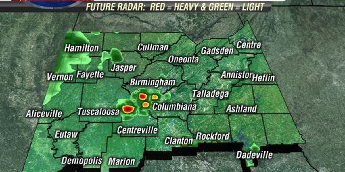 FIRST ALERT: J-P says strong storms will impact West Alabama by 11 a.m.