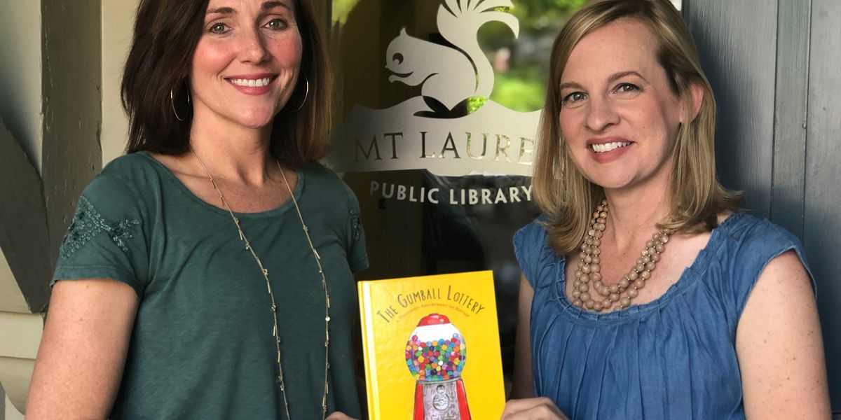 The Gumball Lottery: Mt. Laurel moms team up to write and illustrate new children's book
