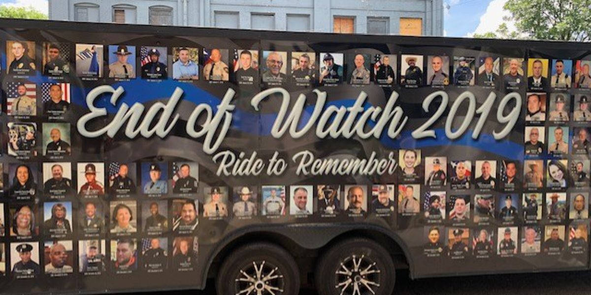 End of Watch Ride to Remember