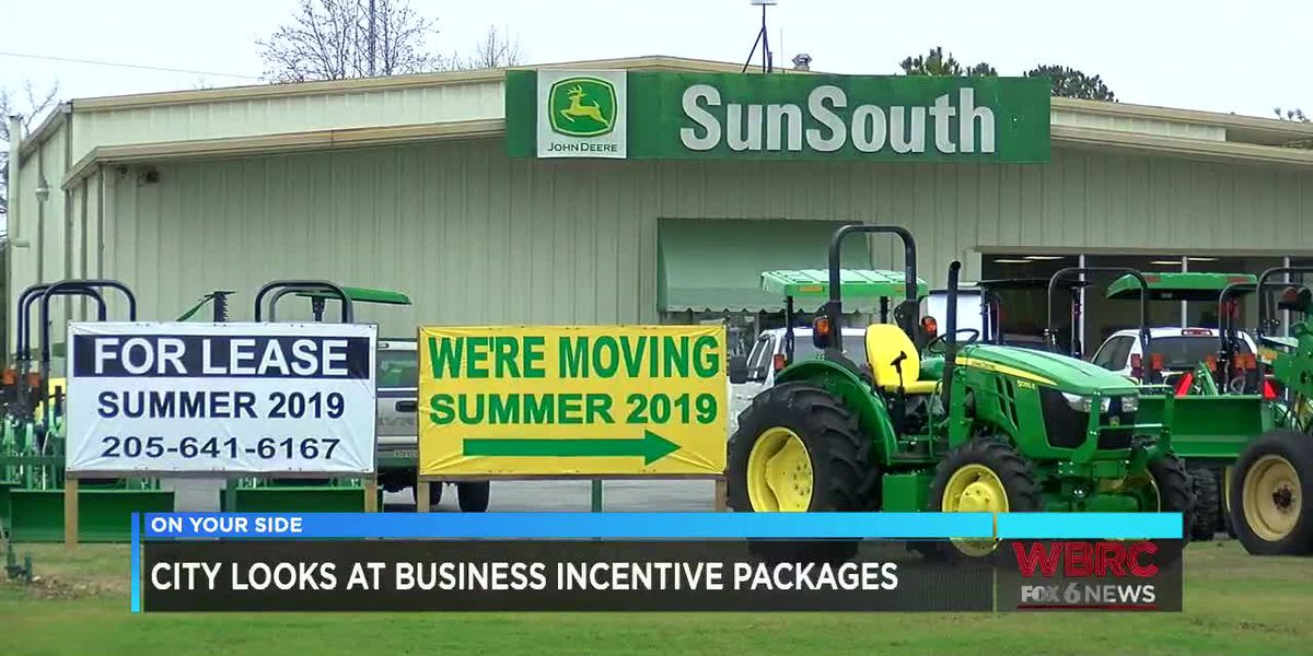 Tuscaloosa looks at business incentive packages