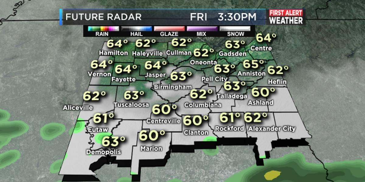 FIRST ALERT: Widespread rainfall expected this weekend