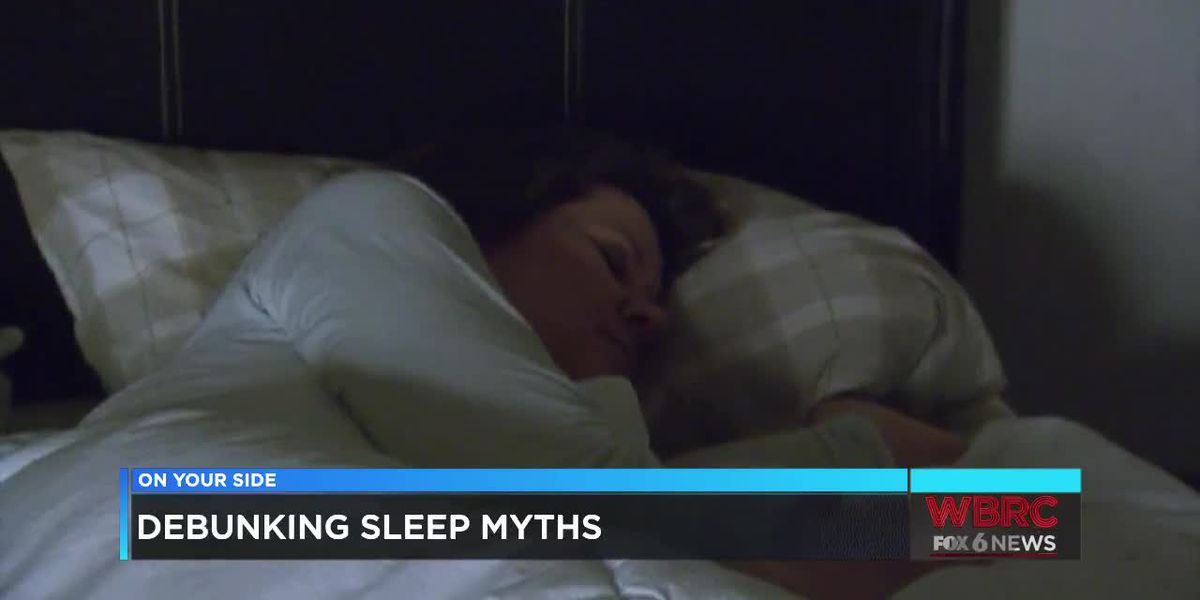 Dr. Justin Thomas: Debunking sleep myths