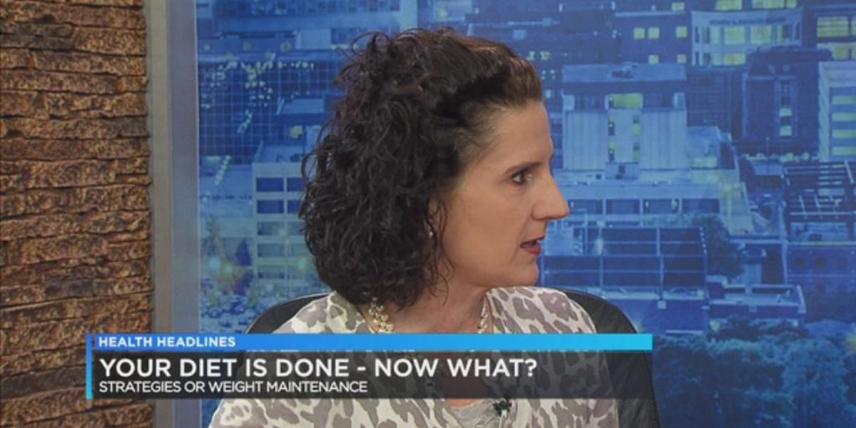 Health Headlines: Your diet is done. Now what?