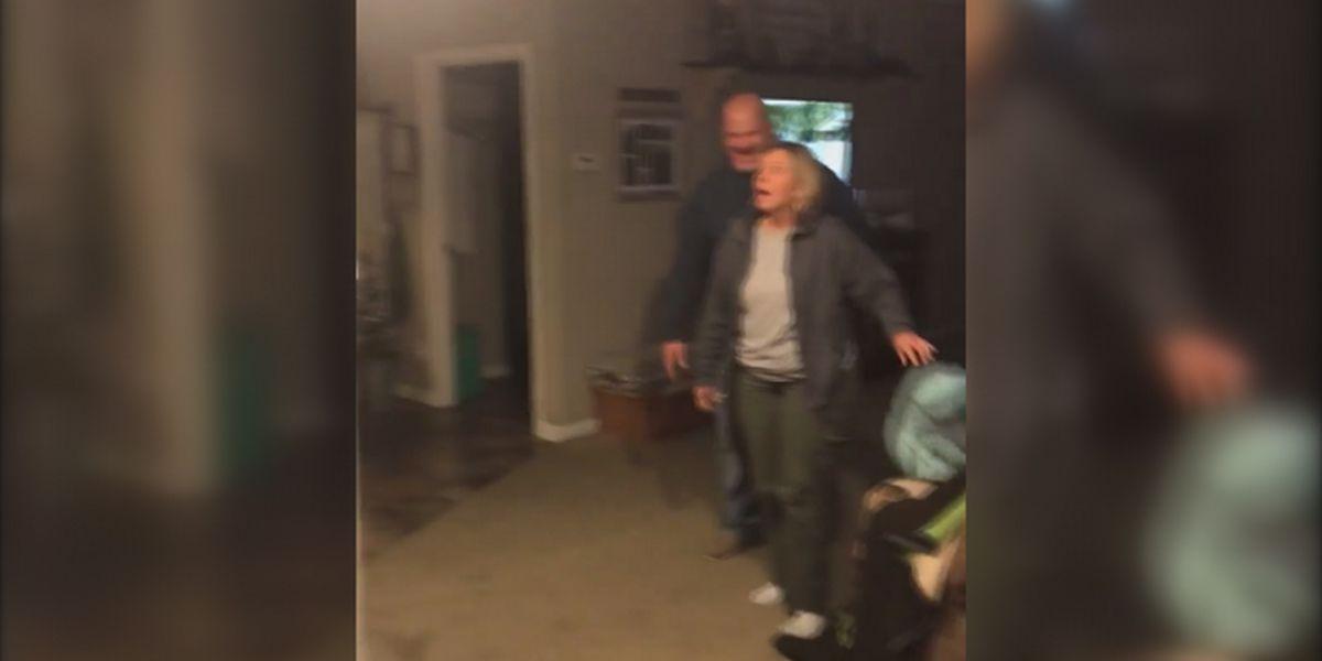 Son's trip home for Christmas surprises Clanton mom