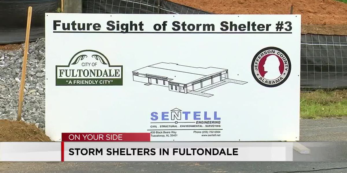 Fultondale storm shelters