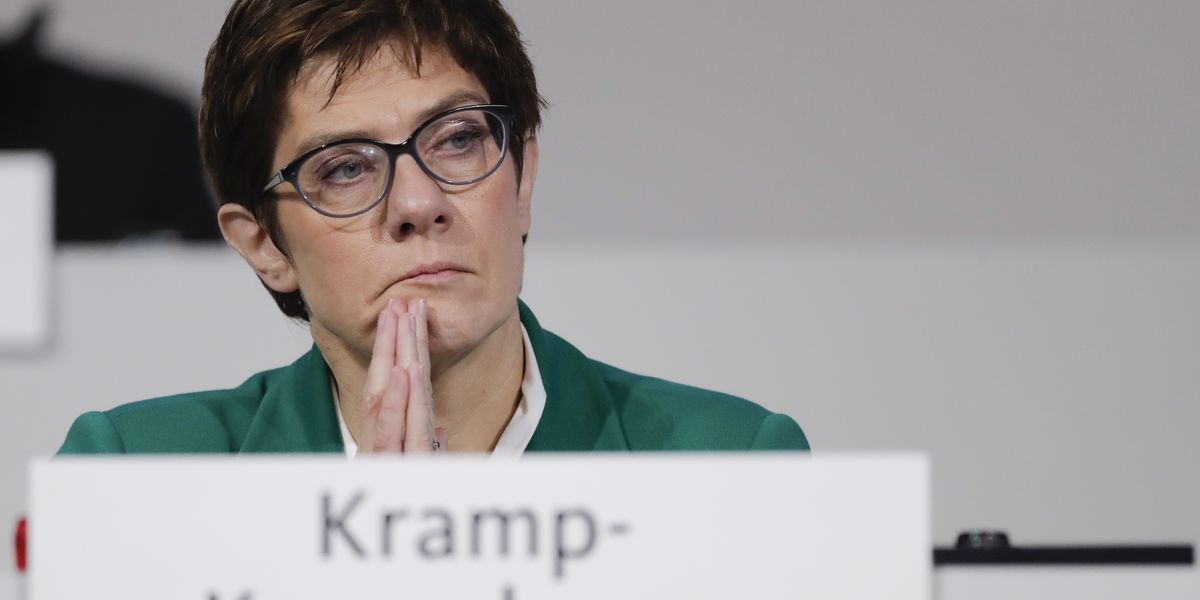 New head of Merkel party seeks to build bridges with rivals