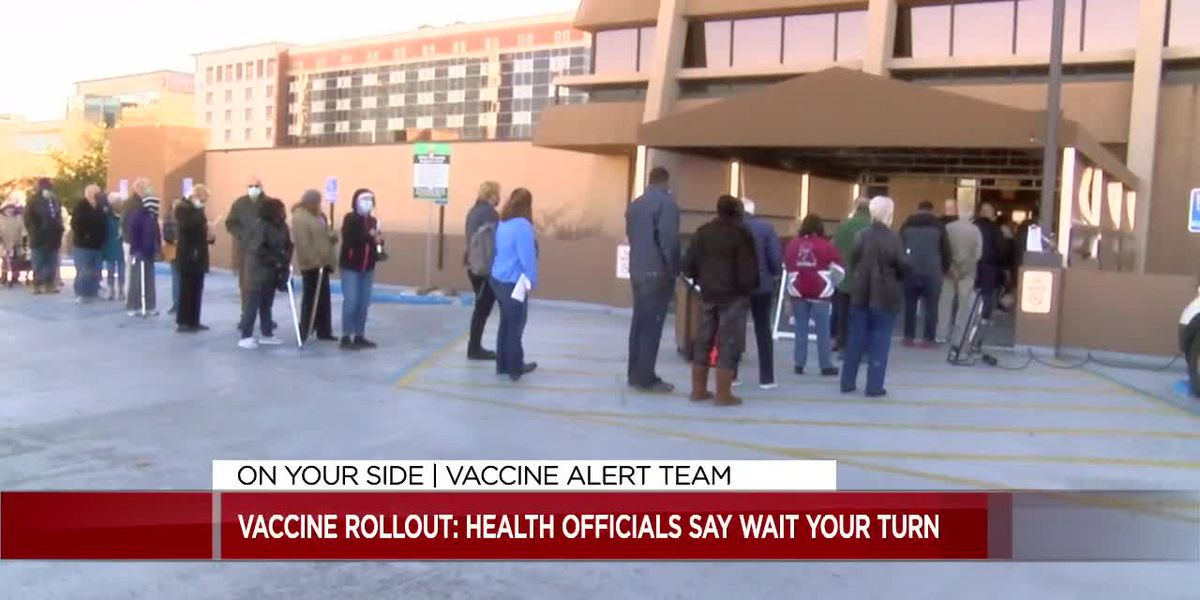 Health officials on waiting your turn for the vaccine